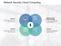 Network Security Cloud Computing Ppt Powerpoint Presentation Styles Gridlines Cpb