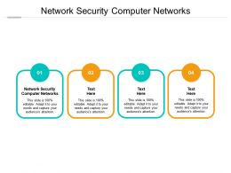 Network Security Computer Networks Ppt Powerpoint Presentation Inspiration Structure Cpb