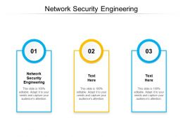 Network Security Engineering Ppt Powerpoint Presentation Layouts Clipart Cpb