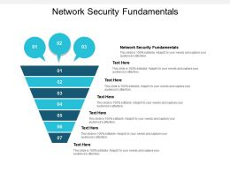 Network Security Fundamentals Ppt Powerpoint Presentation Show Rules Cpb