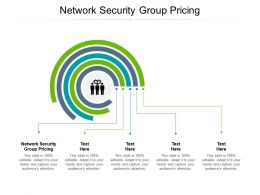 Network Security Group Pricing Ppt Powerpoint Presentation Inspiration Deck Cpb