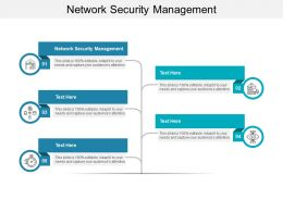 Network Security Management Ppt Powerpoint Presentation Show Graphics Tutorials Cpb