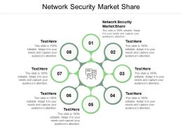 Network Security Market Share Ppt Powerpoint Presentation Summary Infographic Template Cpb