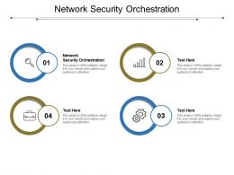 Network Security Orchestration Ppt Powerpoint Presentation Inspiration Good Cpb