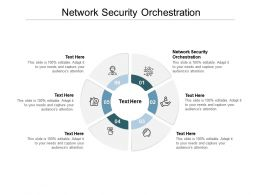 Network Security Orchestration Ppt Powerpoint Presentation Pictures Inspiration Cpb