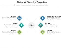 Network Security Overview Ppt Powerpoint Presentation Infographic Template Guidelines Cpb