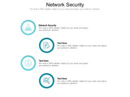 Network Security Ppt Powerpoint Presentation Model Objects Cpb