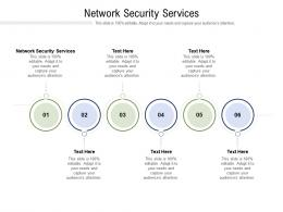 Network Security Services Ppt Powerpoint Presentation Professional Themes Cpb