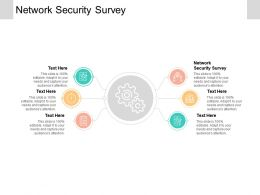 Network Security Survey Ppt Powerpoint Presentation Inspiration Design Inspiration Cpb