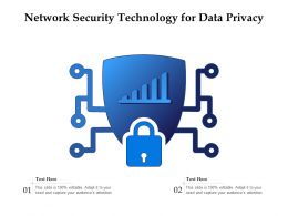 Network Security Technology For Data Privacy