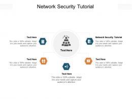 Network Security Tutorial Ppt Powerpoint Presentation Portfolio Mockup Cpb