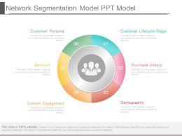 Network Segmentation Model Ppt Model