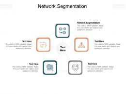Network Segmentation Ppt Powerpoint Presentation Icon Good Cpb