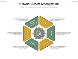 Network Server Management Ppt Powerpoint Presentation Infographics Show Cpb