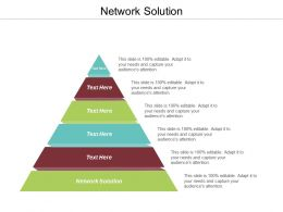 Network Solution Ppt Powerpoint Presentation Gallery Visuals Cpb
