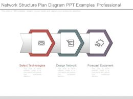 Network Structure Plan Diagram Ppt Examples Professional
