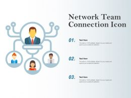 Network Team Connection Icon