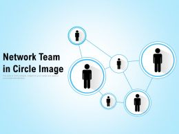 Network Team In Circle Image