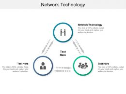 Network Technology Ppt Powerpoint Presentation Icon Gridlines Cpb