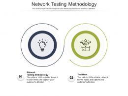 Network Testing Methodology Ppt Powerpoint Presentation Styles Demonstration Cpb