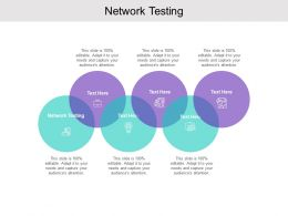 Network Testing Ppt Powerpoint Presentation Infographic Template Influencers Cpb