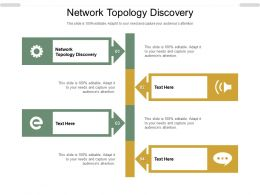 Network Topology Discovery Ppt Powerpoint Presentation Ideas Templates Cpb
