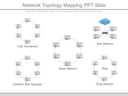 network topology mapping ppt slide