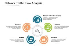 Network Traffic Flow Analysis Ppt Powerpoint Presentation Styles Picture Cpb