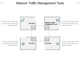 Network Traffic Management Tools Ppt Powerpoint Presentation Gallery Grid Cpb