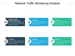 Network Traffic Monitoring Analysis Ppt Powerpoint Presentation Icon Graphics Pictures Cpb