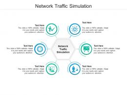 Network Traffic Simulation Ppt Powerpoint Presentation Pictures Design Ideas Cpb