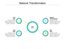 Network Transformation Ppt Powerpoint Presentation Layout Cpb