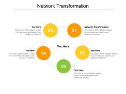 Network Transformation Ppt Powerpoint Presentation Show Example Introduction Cpb