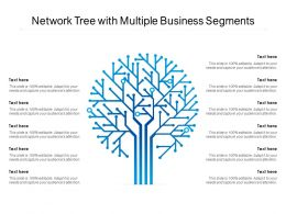 Network Tree With Multiple Business Segments