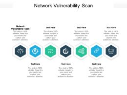 Network Vulnerability Scan Ppt Powerpoint Presentation Model Graphics Example Cpb