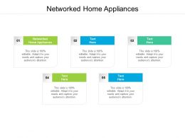 Networked Home Appliances Ppt Powerpoint Presentation Summary Clipart Images Cpb