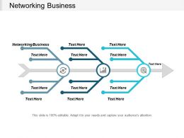 Networking Business Ppt Powerpoint Presentation Gallery Smartart Cpb