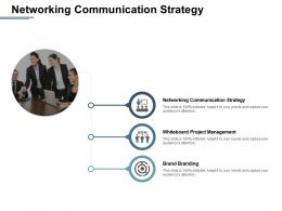 Networking Communication Strategy Whiteboard Project Management Brand Branding Cpb