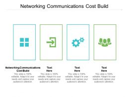 Networking Communications Cost Build Ppt Powerpoint Presentation Layouts Icons Cpb
