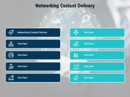 Networking Content Delivery Ppt Powerpoint Presentation Icon Inspiration Cpb