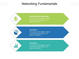 Networking Fundamentals Ppt Powerpoint Presentation Inspiration Clipart Images Cpb