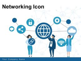 Networking Icon Storage Electronic Communicate Location Networking Migration