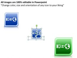 Networking Icons Style 2 Powerpoint Presentation Slides DB