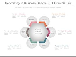 Networking In Business Sample Ppt Example File