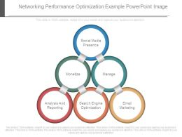 Networking Performance Optimization Example Powerpoint Image