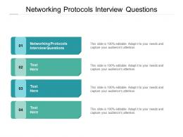 Networking Protocols Interview Questions Ppt Powerpoint Presentation Pictures Good Cpb