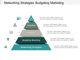 Networking Strategies Budgeting Marketing Performance Management Marketing Mutual Funds Cpb