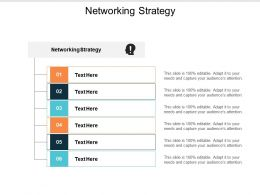 Networking Strategy Ppt Powerpoint Presentation Ideas Inspiration Cpb