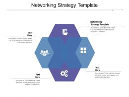 Networking Strategy Template Ppt Powerpoint Presentation Model Graphic Images Cpb