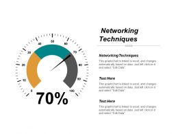 Networking Techniques Ppt Powerpoint Presentation File Smartart Cpb